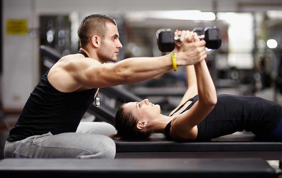 allenamento personalizzato personal trainer